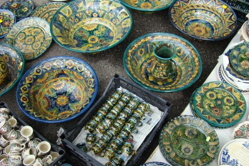 Targul de Arta Ceramica Cucuteni 5000-iunie 2010 Targul62