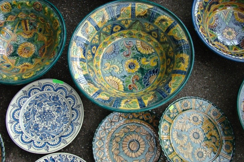 Targul de Arta Ceramica Cucuteni 5000-iunie 2010 Targul63