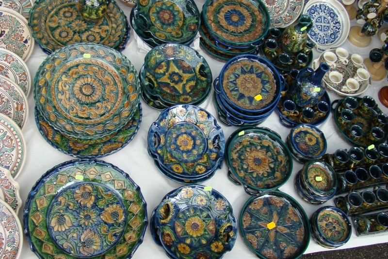 Targul de Arta Ceramica Cucuteni 5000-iunie 2010 Targul65