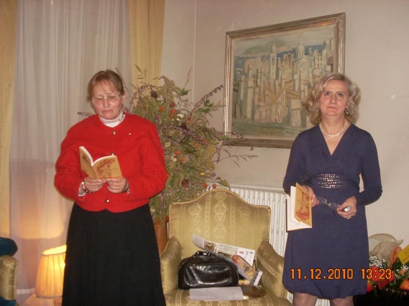 """11 Decembrie 2010- Sedinta a VIII-a a Cenaclului U.P.-Lansare de carte """"Dincolo de cer""""-Violetta Petre Violet20"""