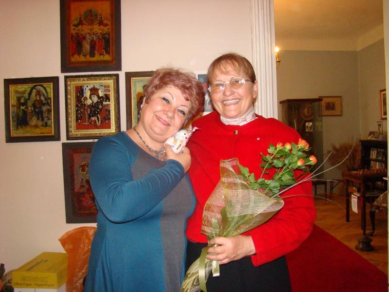 """11 Decembrie 2010- Sedinta a VIII-a a Cenaclului U.P.-Lansare de carte """"Dincolo de cer""""-Violetta Petre Violet29"""