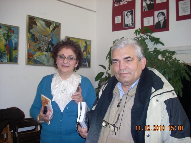 """11 Decembrie 2010- Sedinta a VIII-a a Cenaclului U.P.-Lansare de carte """"Dincolo de cer""""-Violetta Petre Violet30"""