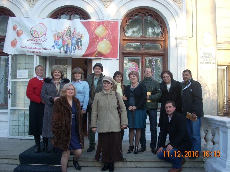 """11 Decembrie 2010- Sedinta a VIII-a a Cenaclului U.P.-Lansare de carte """"Dincolo de cer""""-Violetta Petre Violet34"""