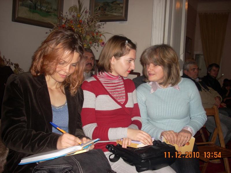 """11 Decembrie 2010- Sedinta a VIII-a a Cenaclului U.P.-Lansare de carte """"Dincolo de cer""""-Violetta Petre Violet65"""