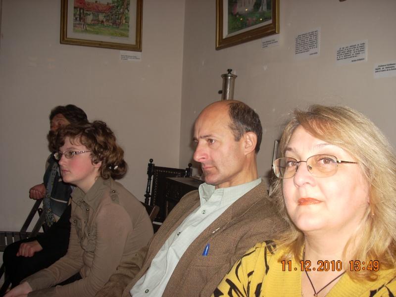 """11 Decembrie 2010- Sedinta a VIII-a a Cenaclului U.P.-Lansare de carte """"Dincolo de cer""""-Violetta Petre Violet67"""