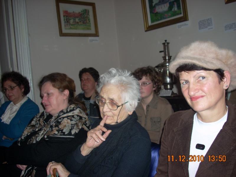 """11 Decembrie 2010- Sedinta a VIII-a a Cenaclului U.P.-Lansare de carte """"Dincolo de cer""""-Violetta Petre Violet68"""
