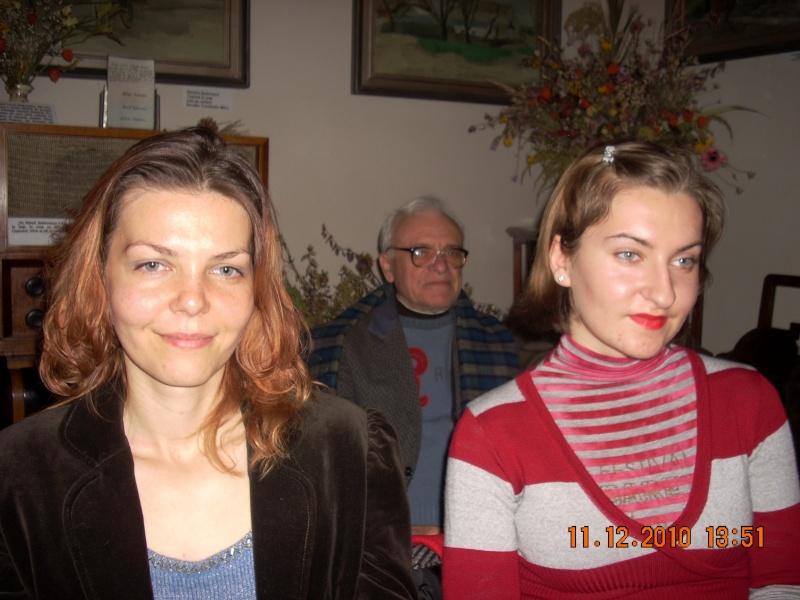"""11 Decembrie 2010- Sedinta a VIII-a a Cenaclului U.P.-Lansare de carte """"Dincolo de cer""""-Violetta Petre Violet71"""