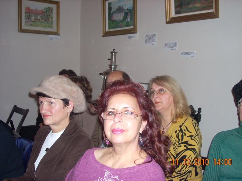 """11 Decembrie 2010- Sedinta a VIII-a a Cenaclului U.P.-Lansare de carte """"Dincolo de cer""""-Violetta Petre Violet76"""