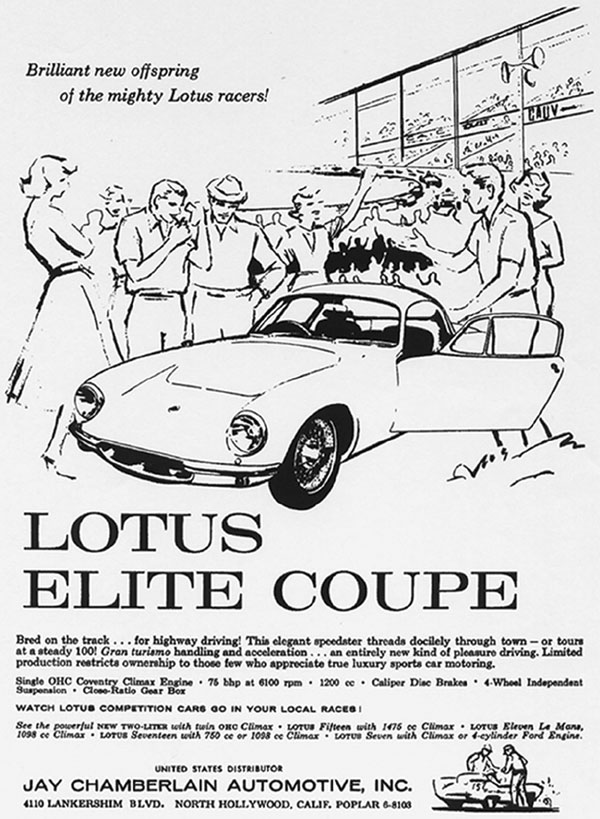 LOTUS ELITE 1957 - 1963 Coupe110