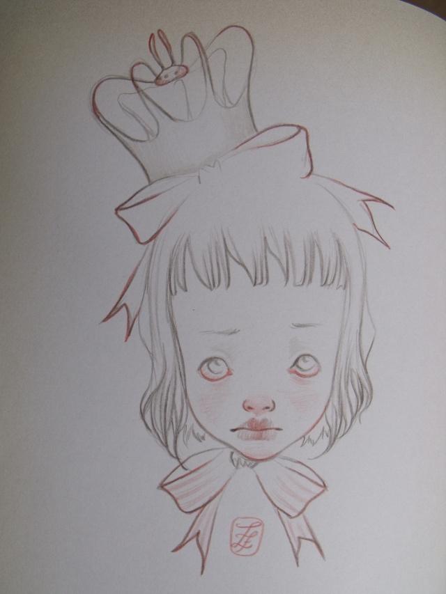 """Expo et Dedicace LUKY : """" La danseuse papillon"""" - Page 2 112"""