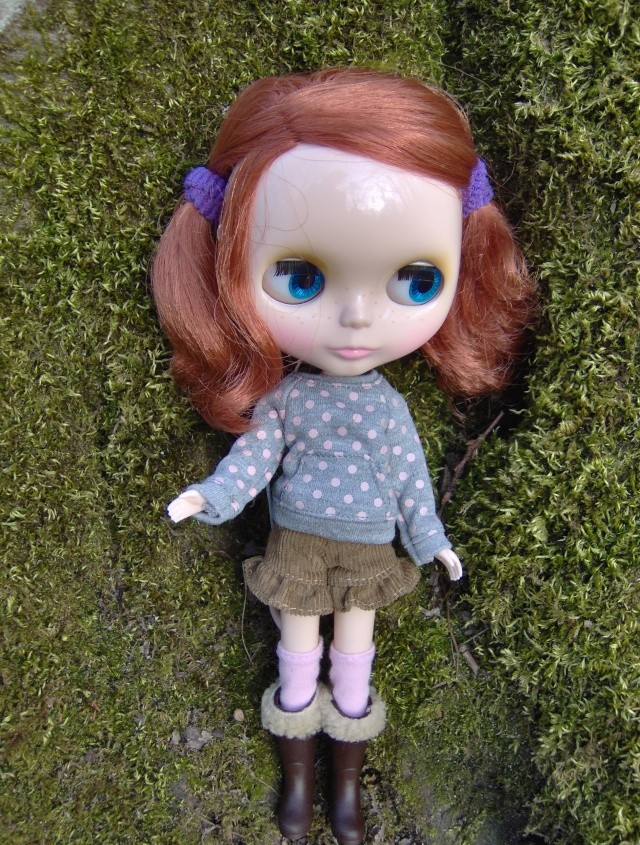 [Blythe - Friendly Freckles] Mandarine: variations... p2 Hpim1316