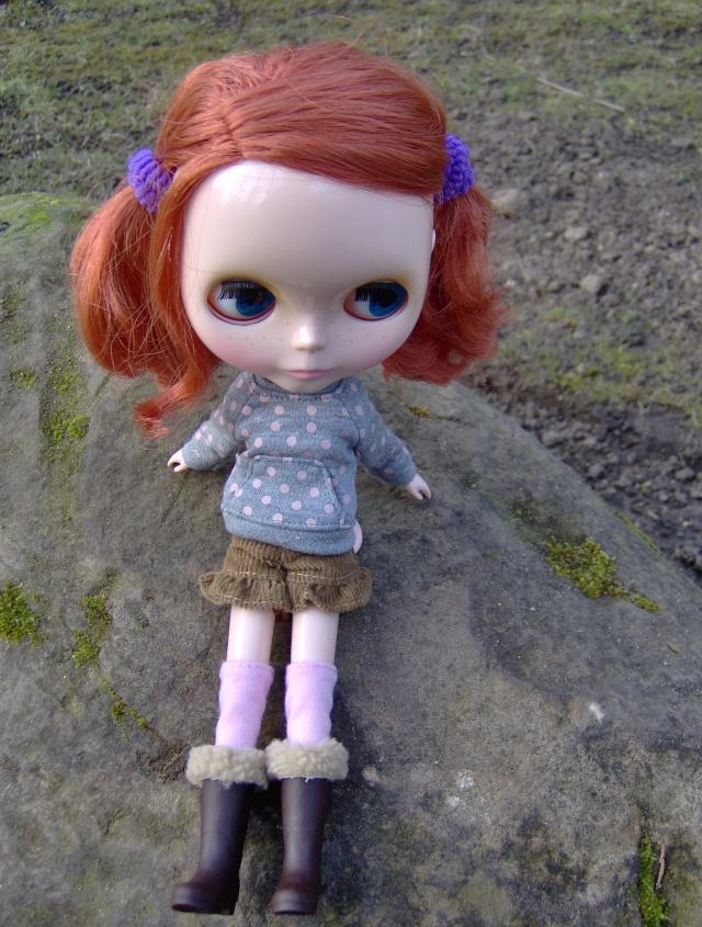 [Blythe - Friendly Freckles] Mandarine: variations... p2 Hpim1319