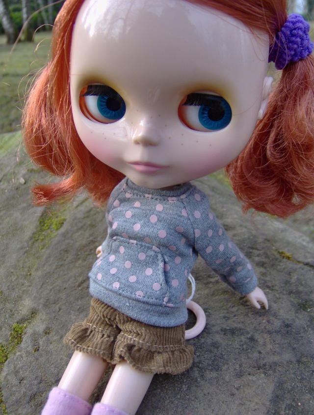 [Blythe - Friendly Freckles] Mandarine: variations... p2 Hpim1320