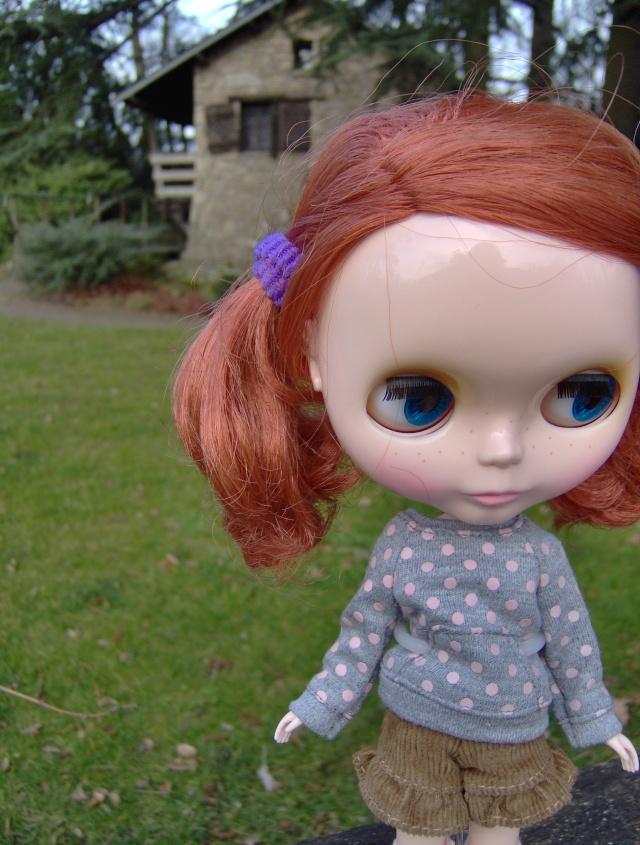 [Blythe - Friendly Freckles] Mandarine: variations... p2 Hpim1323