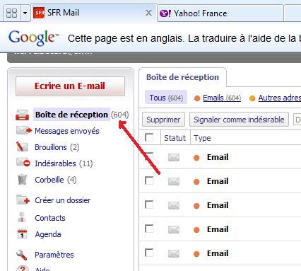 avis de recherche Mail110