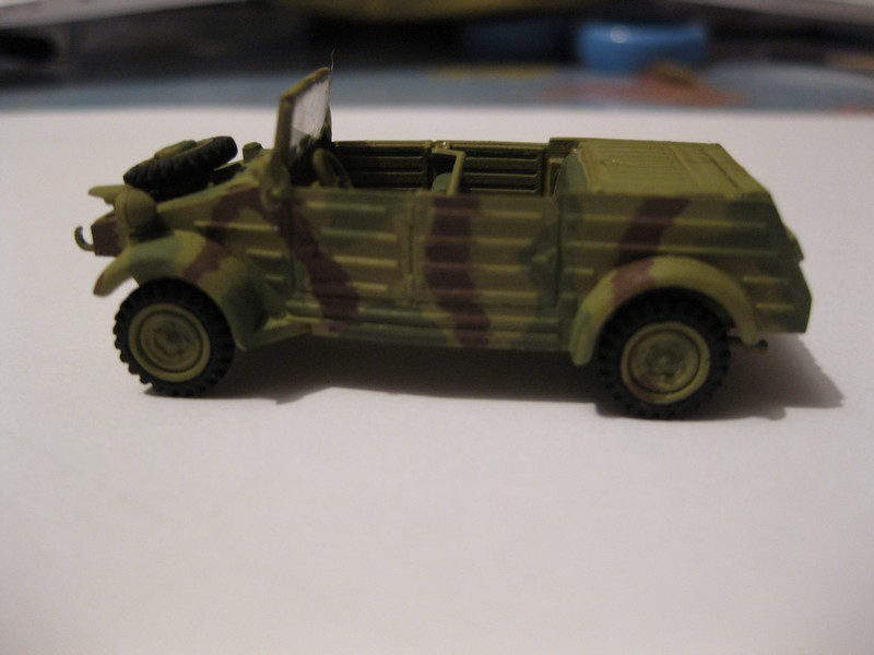 Kubelwagen ,WW.II Ground Vehicle Set [Academy 1/72 ] FINI! Photo155