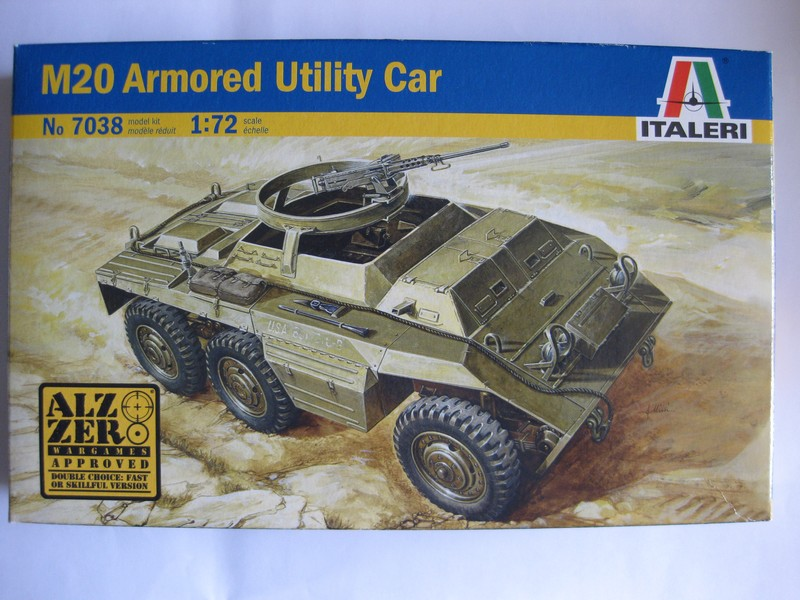 M20 Armored Utility Car  [Italeri, 1/72]: FINI ! Photo263