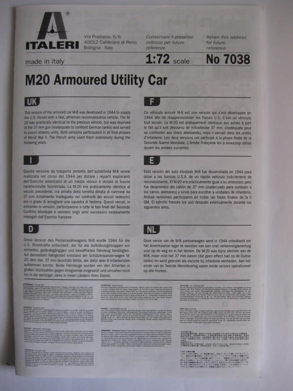 M20 Armored Utility Car  [Italeri, 1/72]: FINI ! Photo264