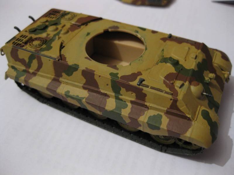 Tiger II Ausf. B Production Turret [Revell, 1/72 ]: FINI! (Ouf!) - Page 4 Photo373