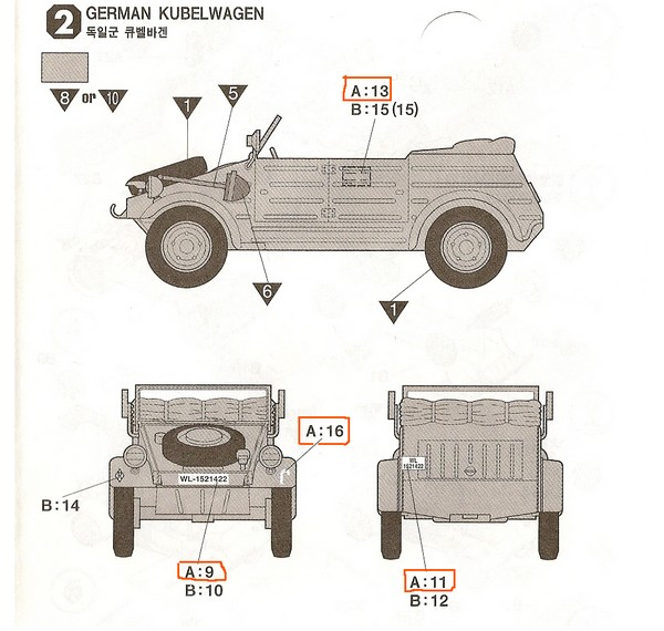 Kubelwagen ,WW.II Ground Vehicle Set [Academy 1/72 ] FINI! Sans_t10