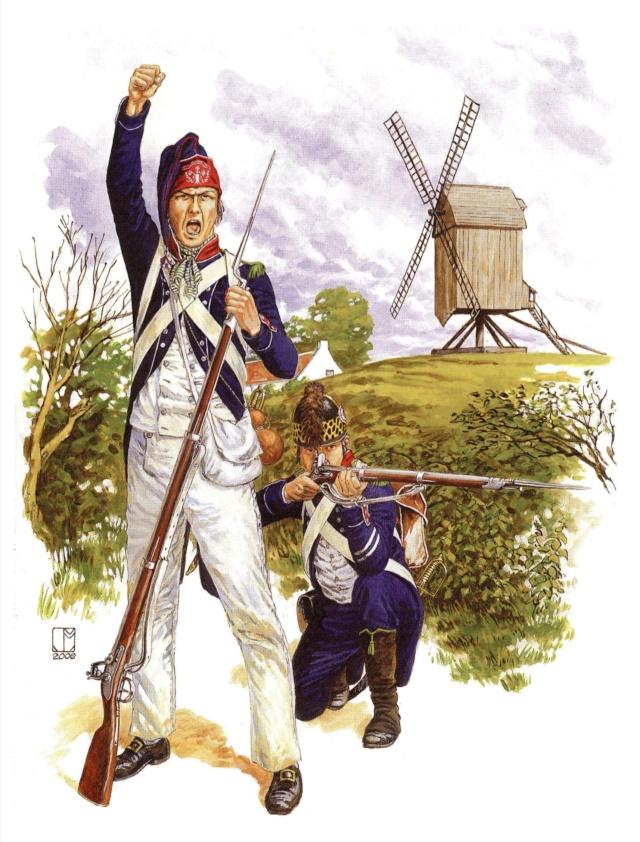 chasseur du 10eme bataillon d'infanterie légère 1794 Soldat10