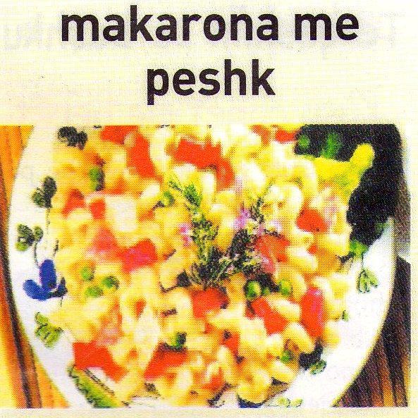 Makarona me peshk Makaro10