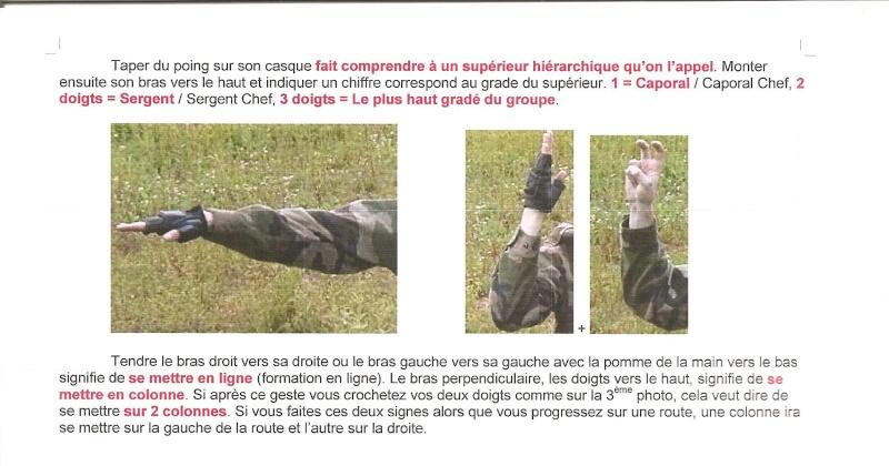 gestuel et Langages des mains , type militaire. 00610