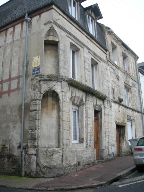 Fécamp - Maison CAMPION rue de la Voûte Rue_de10