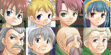 Lot de Characters avec les Facesets associés P7f10