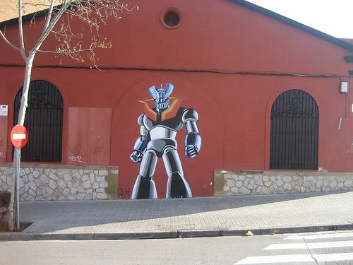 Mazinger Z : statue, fresque,... Z_saba10