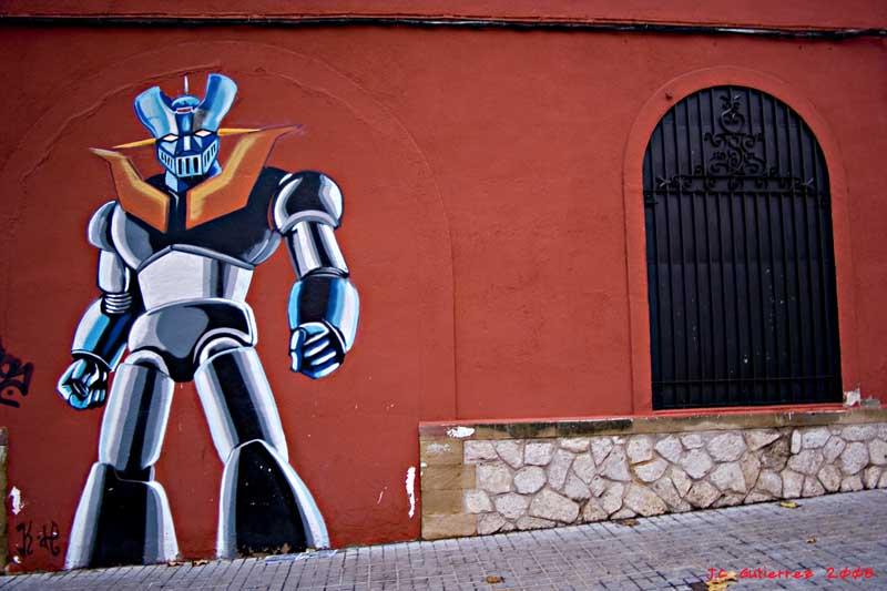 Mazinger Z : statue, fresque,... Z_saba12