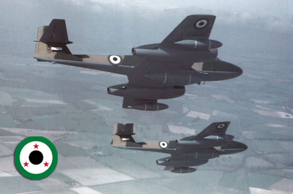GLOSTER METEOR F8  ( AIRFIX  1/48)  FINI 12-110