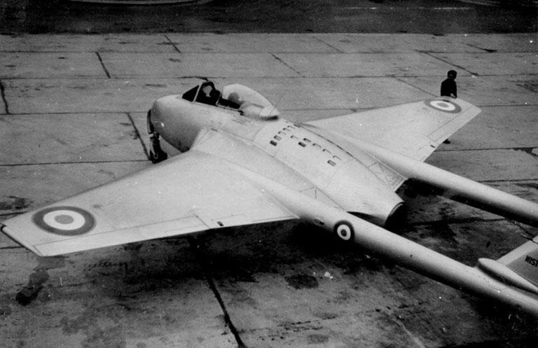 SNCASE 535 MISTRAL ( AZUR FRROM 1/72) 1953-j10