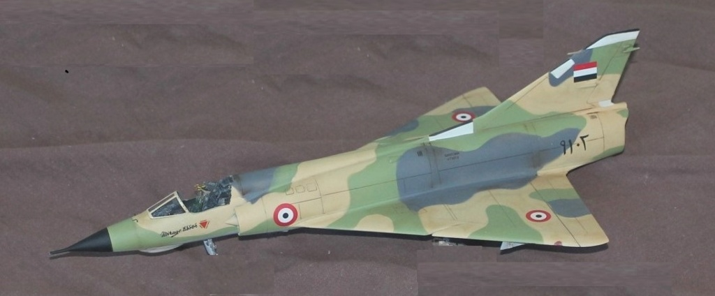 Mirage 5 SDE Egypt ( rénovation Heller 1/48) 1miegy10