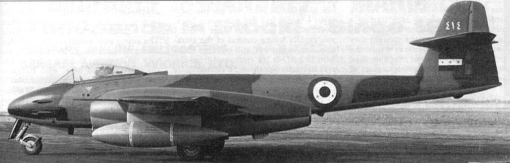 GLOSTER METEOR F8  ( AIRFIX  1/48)  FINI 23-310