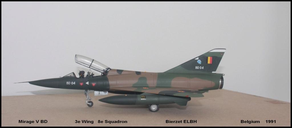 Mirage V Belgium  (restauration d'un Heller au 1/48) - Page 2 Bd110