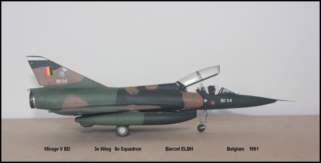 Mirage V Belgium  (restauration d'un Heller au 1/48) - Page 2 Bd210