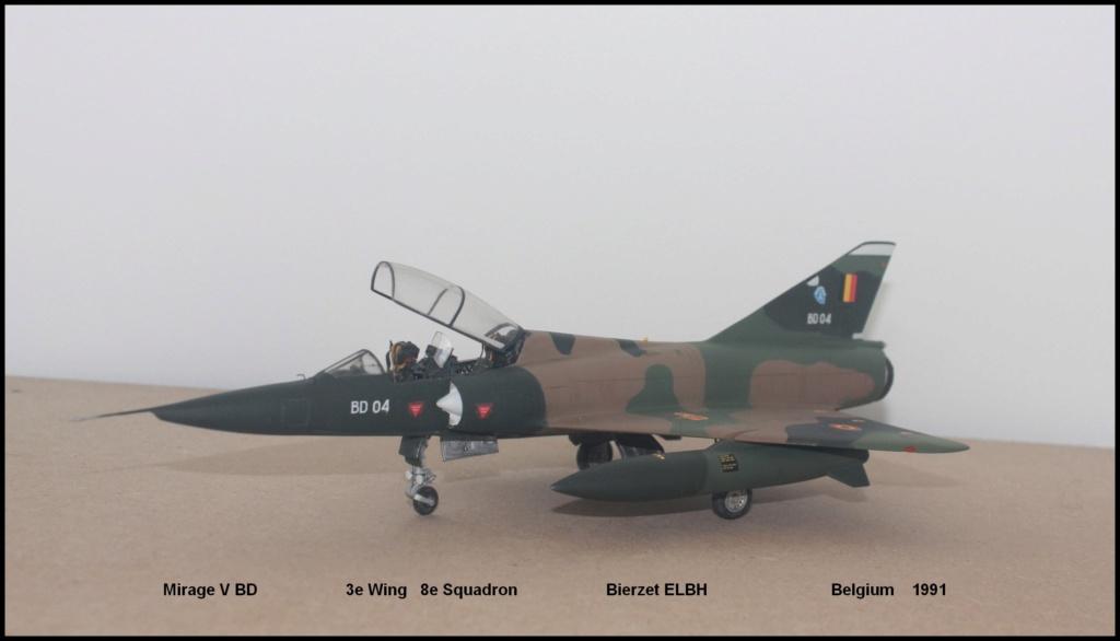 Mirage V Belgium  (restauration d'un Heller au 1/48) - Page 2 Bd410