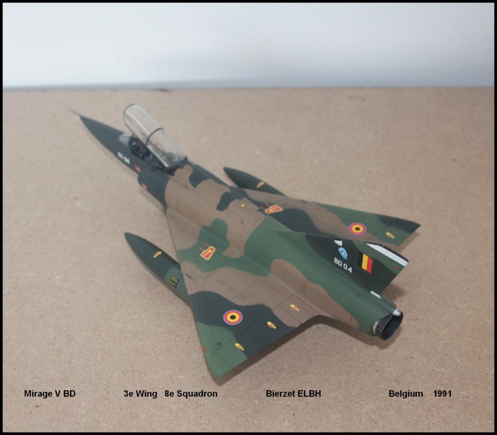 Mirage V Belgium  (restauration d'un Heller au 1/48) - Page 2 Bd510