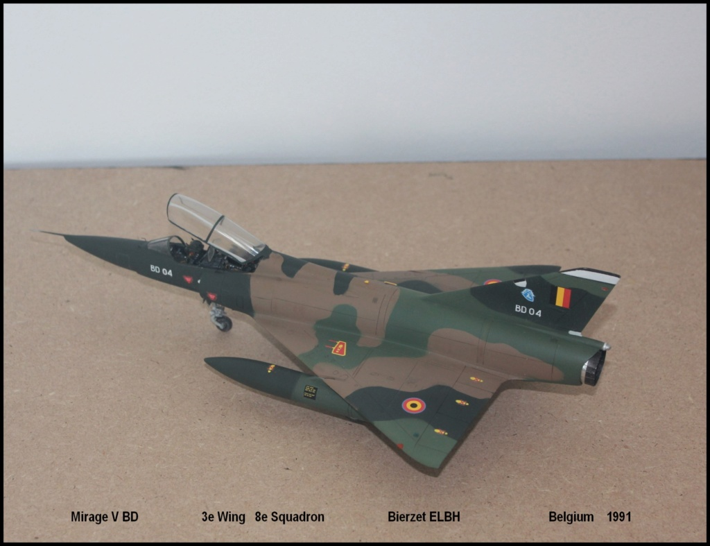 Mirage V Belgium  (restauration d'un Heller au 1/48) - Page 2 Bd610