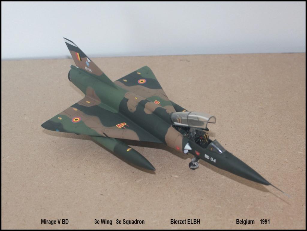 Mirage V Belgium  (restauration d'un Heller au 1/48) - Page 2 Bd710