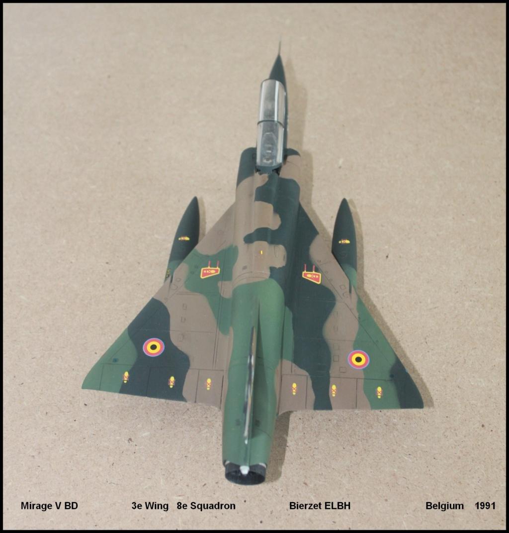 Mirage V Belgium  (restauration d'un Heller au 1/48) - Page 2 Bd810