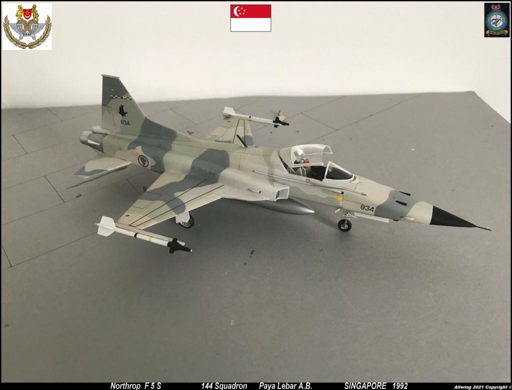Northrop F 5 E   (Monogram / Revell   1/48)  FINI - Page 2 F5s610