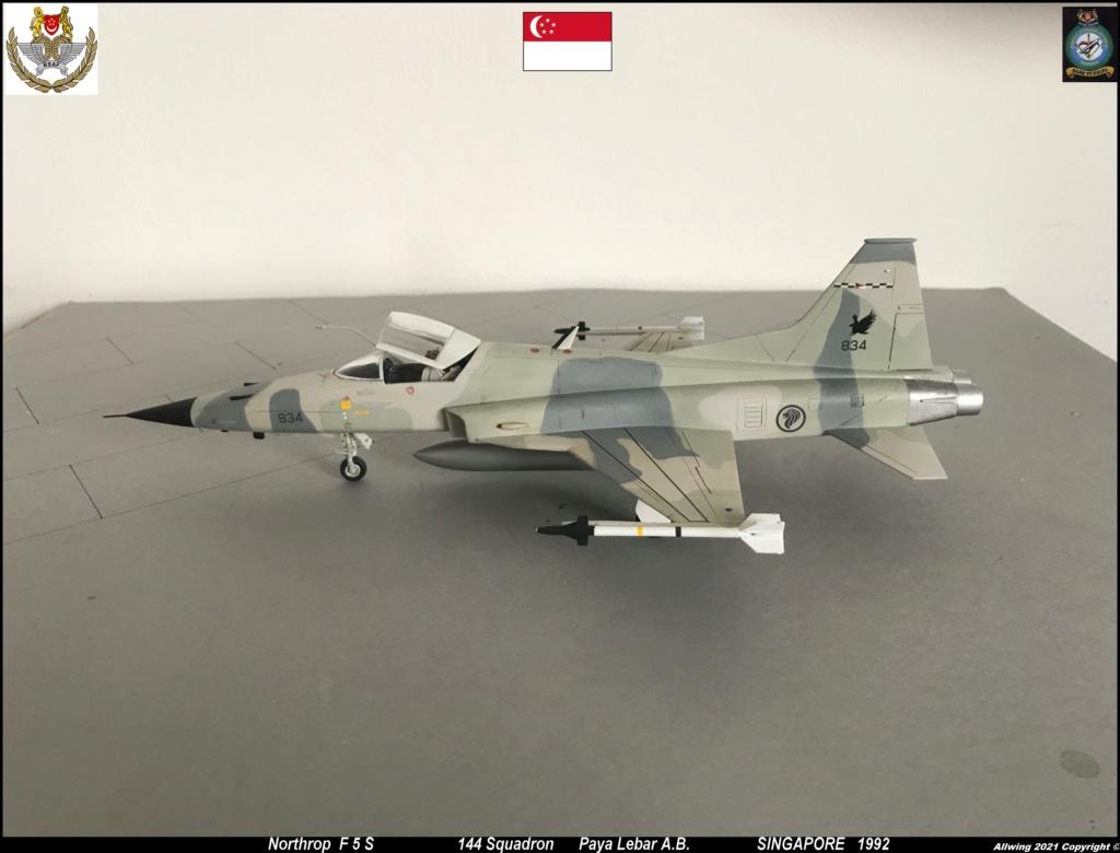 Northrop F 5 E   (Monogram / Revell   1/48)  FINI - Page 2 F5s710