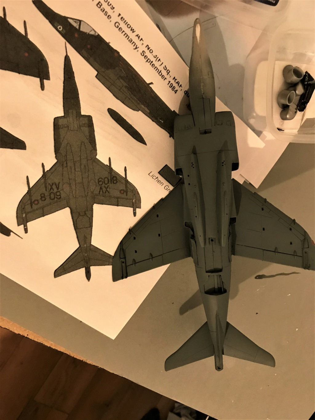 H.S.  HARRIER GR 3    ( AIRFIX  1/48)  FINI - Page 2 Img_0033