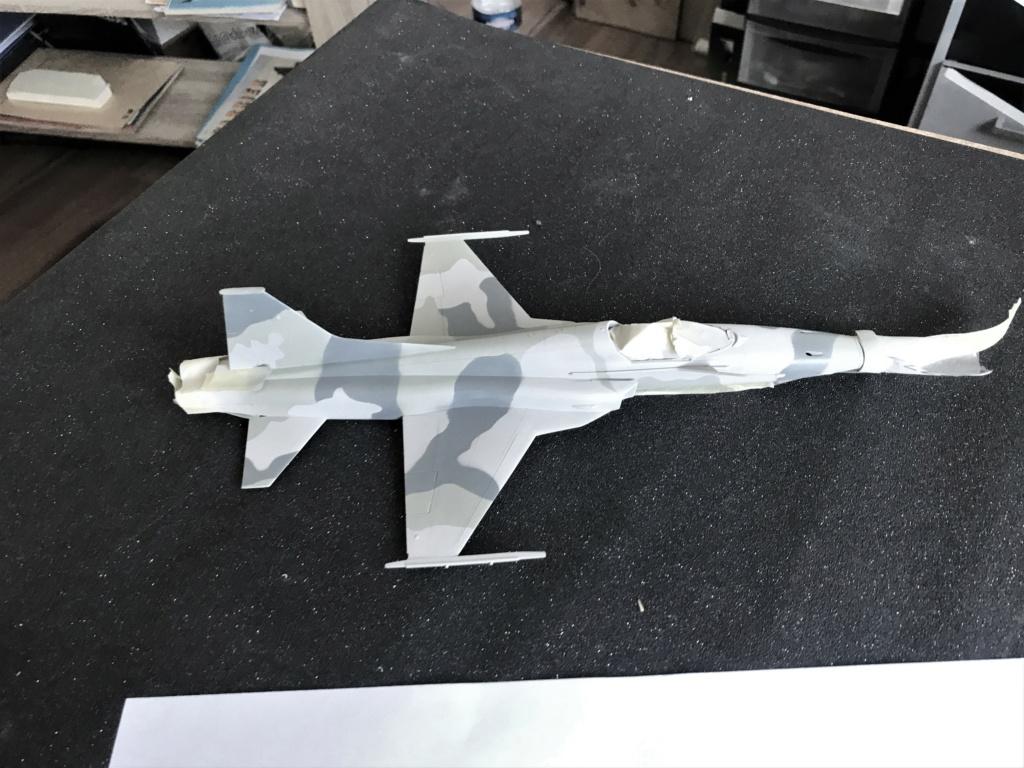 Northrop F 5 E   (Monogram / Revell   1/48)  FINI - Page 2 Img_2225