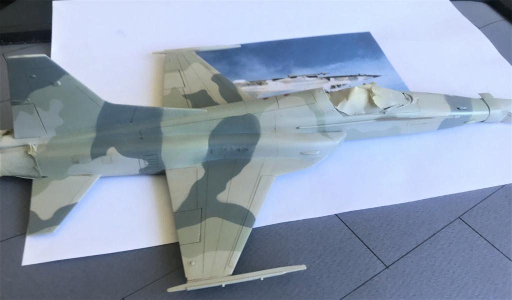 Northrop F 5 E   (Monogram / Revell   1/48)  FINI - Page 2 Img_2228
