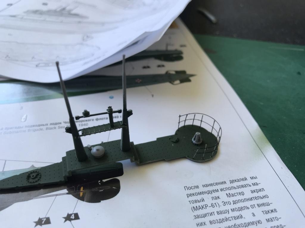 Sous marin Soviétique  SHCHUKA  classe X   (ZVEDA  1/144)    FINI Img_2612