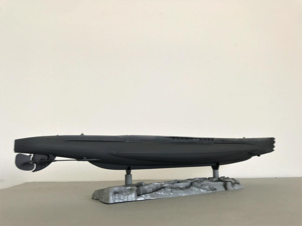 Sous marin Soviétique  SHCHUKA  classe X   (ZVEDA  1/144)    FINI Img_2623