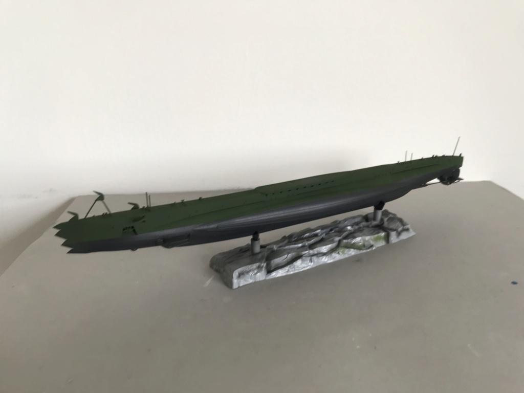 Sous marin Soviétique  SHCHUKA  classe X   (ZVEDA  1/144)    FINI Img_2627